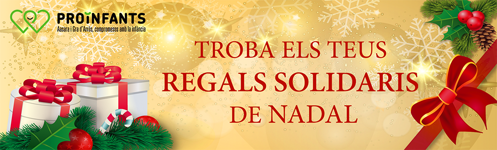 Regals solidaris de nadal